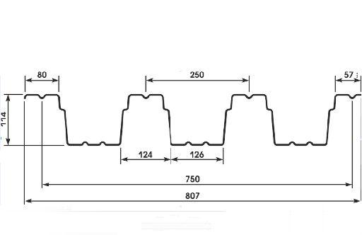 Профнастил H-114